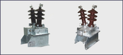 Oil insulated voltage transformer